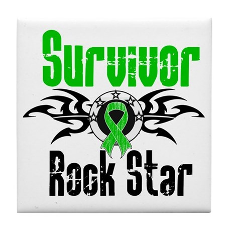 SCT Survivor Rock Star Tile Coaster