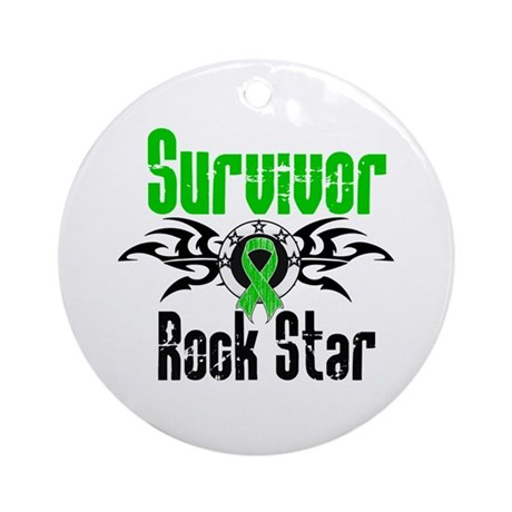SCT Survivor Rock Star Ornament (Round)
