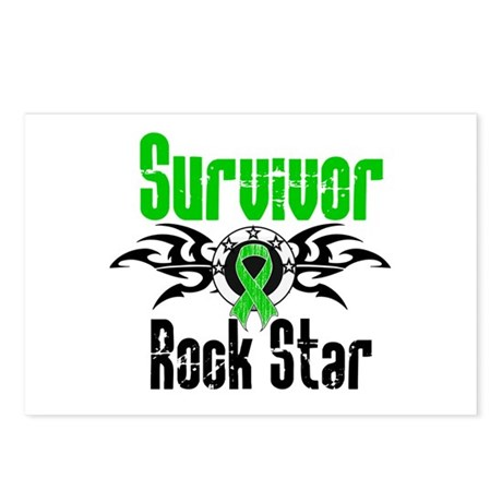 SCT Survivor Rock Star Postcards (Package of 8)