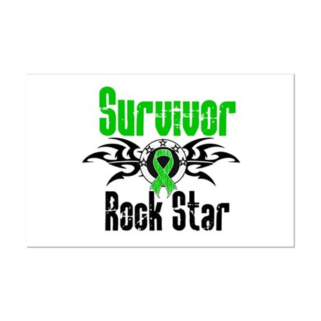 SCT Survivor Rock Star Mini Poster Print