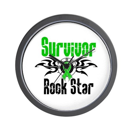 SCT Survivor Rock Star Wall Clock