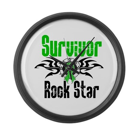 SCT Survivor Rock Star Large Wall Clock