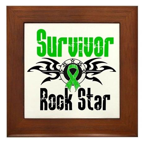 SCT Survivor Rock Star Framed Tile