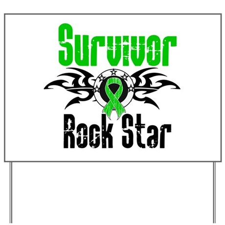 SCT Survivor Rock Star Yard Sign