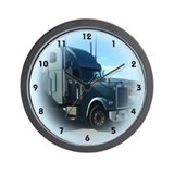 Cute Truck drivers trucks truckers Wall Clock