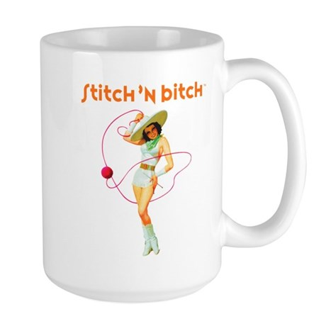 Official STITCH 'N BITCHT Large Mug