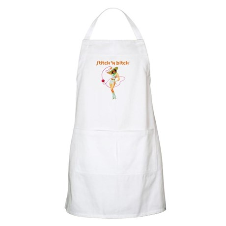 Official STITCH 'N BITCHT BBQ Apron