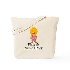 Dialysis Nurse Chick Tote Bag