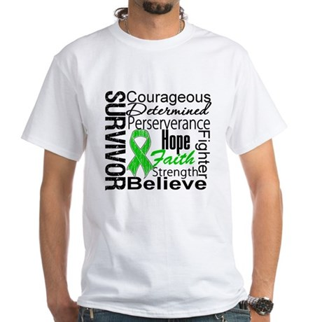 Survivor StemCellTransplant White T-Shirt