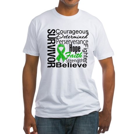 Survivor StemCellTransplant Fitted T-Shirt