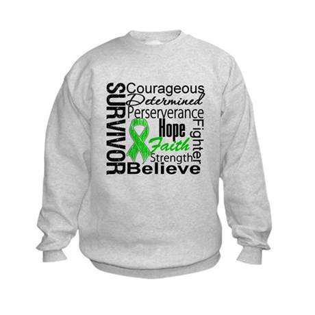 Survivor StemCellTransplant Kids Sweatshirt