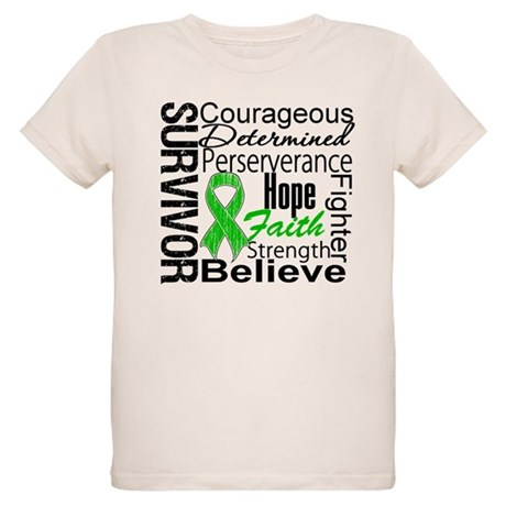 Survivor StemCellTransplant Organic Kids T-Shirt