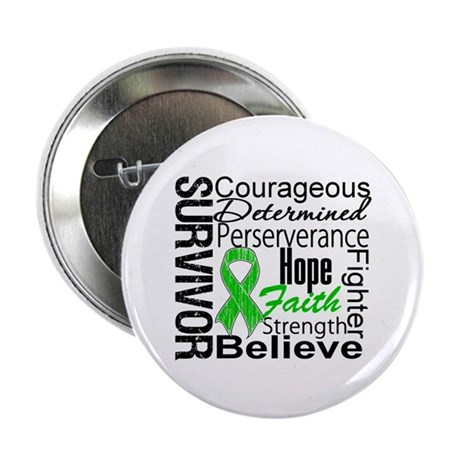"Survivor StemCellTransplant 2.25"" Button (100 pack"