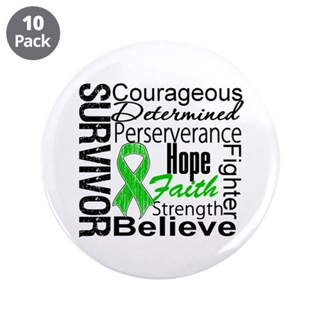 "Survivor StemCellTransplant 3.5"" Button (10 pack)"
