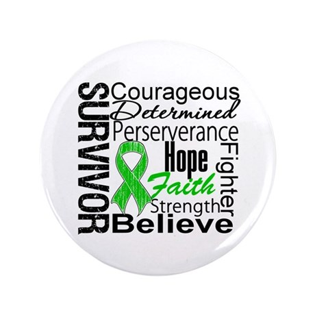 "Survivor StemCellTransplant 3.5"" Button (100 pack)"