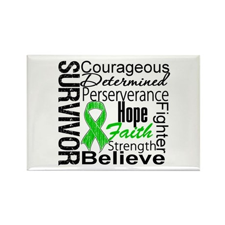Survivor StemCellTransplant Rectangle Magnet (100
