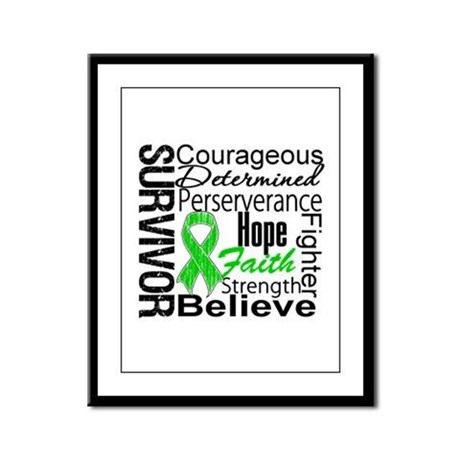 Survivor StemCellTransplant Framed Panel Print