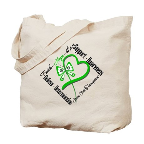 StemCellTransplant Heart Tote Bag
