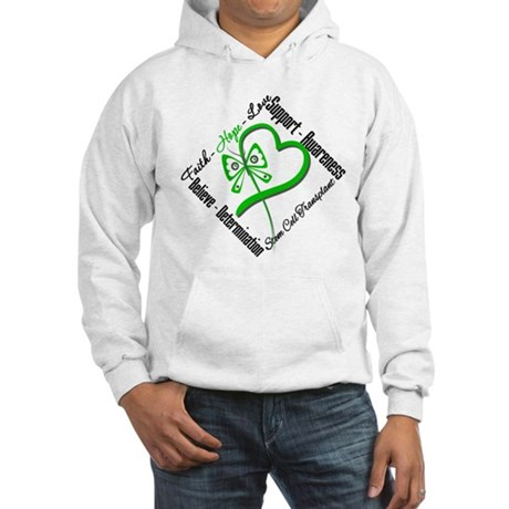 StemCellTransplant Heart Hooded Sweatshirt