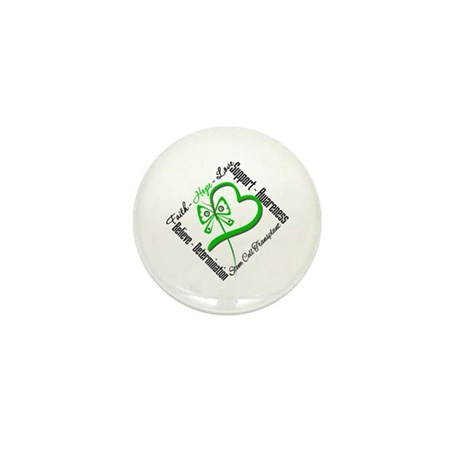 StemCellTransplant Heart Mini Button (100 pack)