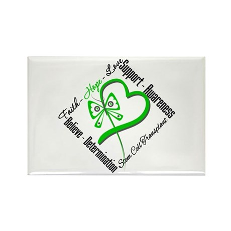 StemCellTransplant Heart Rectangle Magnet (100 pac