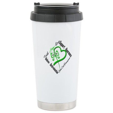 StemCellTransplant Heart Ceramic Travel Mug