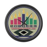 Kwanzaa Large Wall Clock