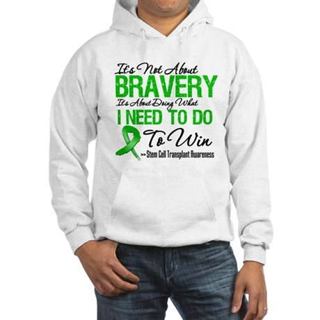 BraveryStemCellTransplant Hooded Sweatshirt
