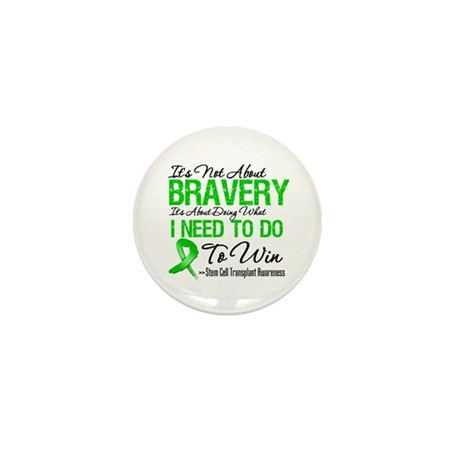 BraveryStemCellTransplant Mini Button (100 pack)