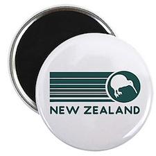 New Zealand Kiwi Stripes Magnet