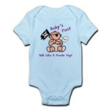 Baby's first pirate day Infant Bodysuit