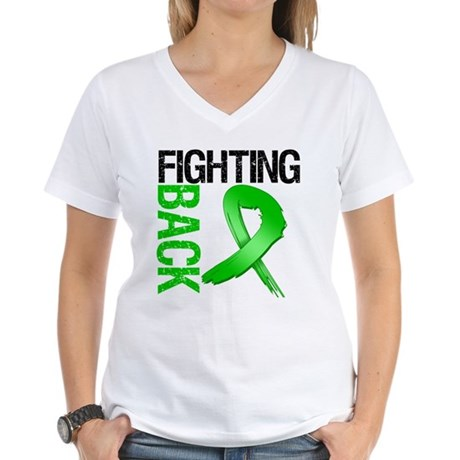 Fighting Back SCT Women's V-Neck T-Shirt