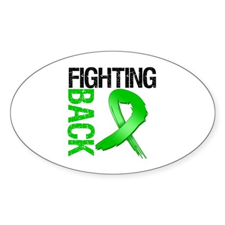 Fighting Back SCT Oval Sticker