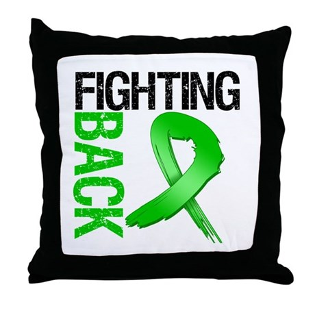 Fighting Back SCT Throw Pillow