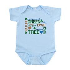 Live Green Montage Infant Bodysuit