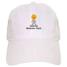 Internal Medicine Chick Baseball Cap