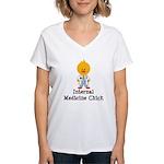 Internal Medicine Chick Women's V-Neck T-Shirt