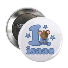 "Isaac 1st Birthday 2.25"" Button"