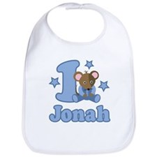 1st Birthday Jonah Bib