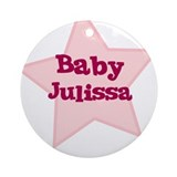Baby Julissa Ornament (Round)