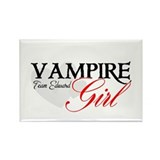 Vampire Girl Rectangle Magnet