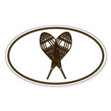 Shoeshoe Oval Decal