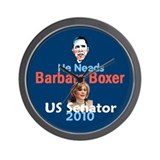 Barbara Boxer Wall Clock