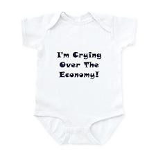 Crying Over The Economy Infant Bodysuit