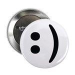"Smiley Face Emoticon 2.25"" Button"
