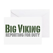 Big Viking Greeting Cards (Pk of 10)