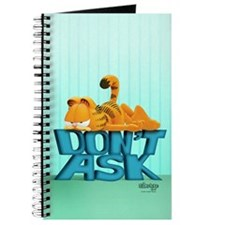 "Garfield ""Don't Ask"" Journal"