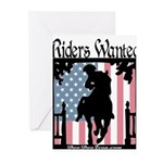 Riders Wanted Greeting Cards (Pk of 10)