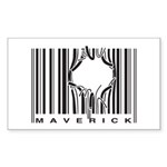 Maverick Rectangle Sticker