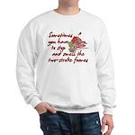 Two-Stroke Roses Sweatshirt